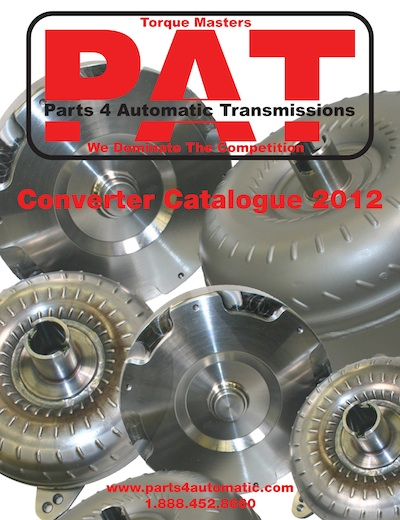 Parts for Automatic Transmissions Catalogue. Call or email to receive a copy